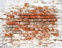 Parede de tijolo antiga Fotografia de Stock