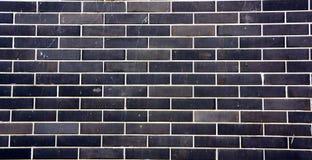 Parede de tijolo azul Imagens de Stock Royalty Free