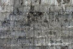 Parede de tijolo branca áspera Imagens de Stock