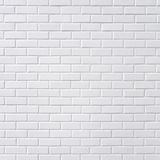 Parede de tijolo branca imagem de stock