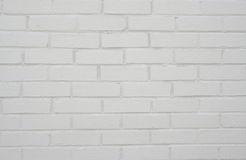Parede de tijolo branca. Foto de Stock