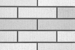 Parede de tijolo branca Fotos de Stock