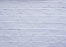 Parede de tijolo branca velha, fundo Fotografia de Stock Royalty Free