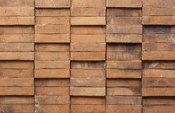 Parede de tijolo de Brown Fotografia de Stock Royalty Free