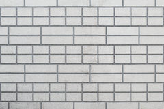 A parede de tijolo cinzenta Fotografia de Stock