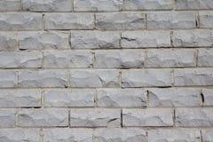 Parede de tijolo cinzenta Fotos de Stock Royalty Free