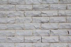 Parede de tijolo cinzenta Fotografia de Stock Royalty Free