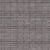 Parede de tijolo cinzenta de Charchoal ilustração royalty free