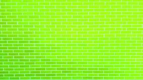 Parede de tijolo colorida com textura do fundo da pintura da casca Fotos de Stock Royalty Free