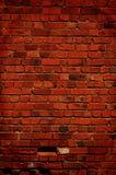 Fundo da parede de tijolo com o um desaparecido do tijolo fotografia de stock royalty free