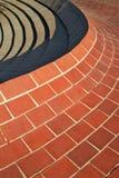 Parede de tijolo curvada Imagem de Stock
