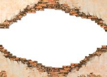 Parede de tijolo da construção Imagem de Stock