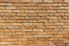 Parede de tijolo da construção velha Foto de Stock
