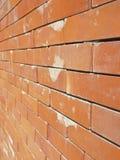 Parede de tijolo da perspectiva foto de stock royalty free
