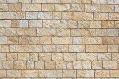 Parede de tijolo da rocha Imagem de Stock Royalty Free