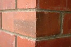 Parede de tijolo de duas dimensões Fotografia de Stock Royalty Free