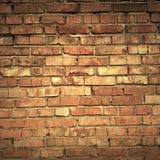 Parede de tijolo de Grunge fotos de stock