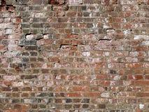 Parede de tijolo de Grunge fotografia de stock royalty free