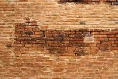 Parede de tijolo de pedra foto de stock