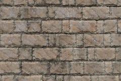 Parede de tijolo de pedra da textura da telha Foto de Stock Royalty Free