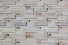 Parede de tijolo de pedra moderna Imagens de Stock Royalty Free