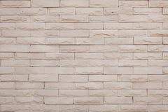 Parede de tijolo de pedra moderna Fotografia de Stock Royalty Free