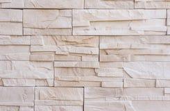Parede de tijolo de pedra moderna, crua Imagens de Stock Royalty Free