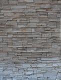Parede de tijolo de pedra, parede de pedra do tijolo moderno Fotos de Stock Royalty Free