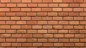 Parede de tijolo decorativa, não pintada projeto do teste padrão da parede de tijolo foto de stock royalty free