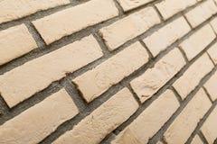 Parede de tijolo do arenito Foto de Stock