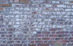Parede de tijolo do forte histórico da guerra civil Foto de Stock Royalty Free