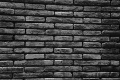 Parede de tijolo do fundo cinzento Imagens de Stock