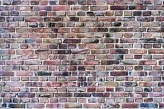 Parede de tijolo, do fundo velho, vermelho, sujo do tijolo fotografia de stock royalty free