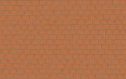 Parede de tijolo do teste padrão de um de tamanho médio Fotografia de Stock
