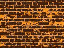 Parede de tijolo do vetor ilustração do vetor