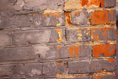 Parede de tijolo do vintage Imagens de Stock Royalty Free