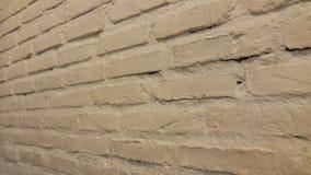 Parede de tijolo exposta Fotos de Stock