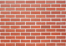 Parede de tijolo moderna Fotografia de Stock Royalty Free