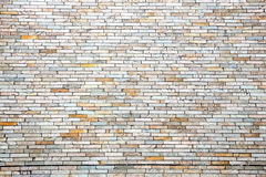 Parede de tijolo moderna Imagem de Stock Royalty Free