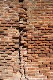 Parede de tijolo muito velha Fotografia de Stock Royalty Free