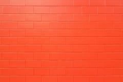 Parede de tijolo nova. Imagens de Stock
