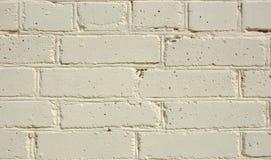 Parede de tijolo pintada. Fotos de Stock Royalty Free