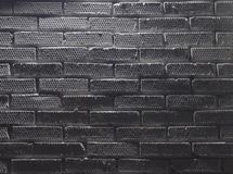 Parede de tijolo pintada branca imagens de stock royalty free