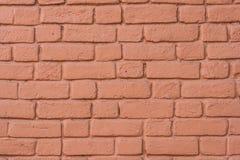 Parede de tijolo pintada Fundo, textura Foto de Stock Royalty Free
