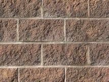 Parede de tijolo quadrada Imagens de Stock