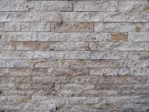 Parede de tijolo rústica Foto de Stock