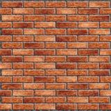 Parede de tijolo realística Imagens de Stock