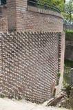 Parede de tijolo romana antiga Imagem de Stock Royalty Free
