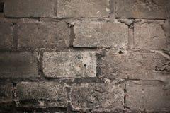 Parede de tijolo suja Imagens de Stock Royalty Free