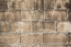 Parede de tijolo suja, textura cinzenta suja Foto de Stock Royalty Free